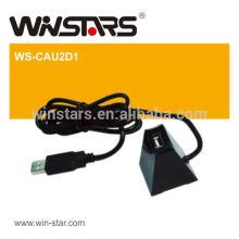 USB 2.0 1-портовый концентратор для расширения порта концентратора компьютера maxmium до 1 м, usb 2.0 мини-док-станция с кабелем, подключи и играй