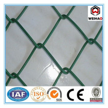 High quality pvc coated chain link fence per sqm weight