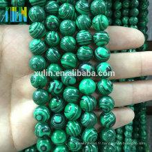 Perles en pierre naturelles lâches de 12 millimètres bon marché pour des pierres semi-précieuses de bijoux