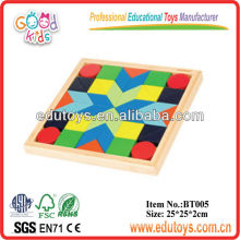 Puzzle de forma de bambú para los niños