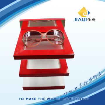 Hochwertige Holzbrillen-Display