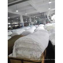 Tecido impresso em poliéster cinza ou impresso para lençóis