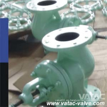 Bellow Sealing Ss316 / CF8m OS & Y Bolted Bonnet Wcb / A105 Globe Valve