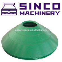 Casting Steel Mantle and Concave spare parts for crusher - Bowl Liner and Mantle
