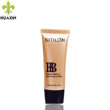 Embalagens plásticas de cosmética para embalagem bb cream tubes 50ml