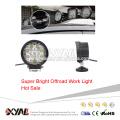 10-30V 27W 6000K Super Bright PC Lens Flood Spot Beam IP67 LED Work Light