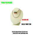 Wholesale White Leather Jewelry Displays Bust (JN-DS-WL)