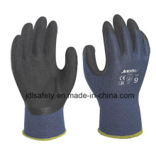 Bamboo Fiber Work Glove with Black Latex Foam Coating (L3014)