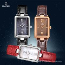 Relógio de aço inoxidável de senhoras nova moda 71082
