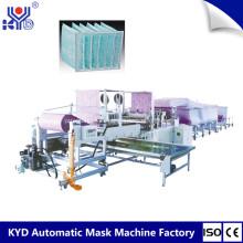 Filtro de aire tipo bolsa de filtro de la máquina