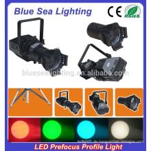 200W LED weiß / 4IN1 prefocus Profil Spot Theater Licht