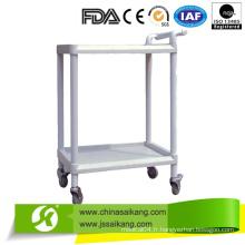 Chariot d'équipement médical ABS de l'hôpital (CE / FDA / ISO)