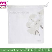 atacado sacos de cordão de malha de nylon para a lavanderia