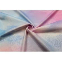 Tecido de cortina de estofamento luxuoso de folha têxtil