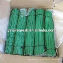 Hilos de hierro cortado con recubrimiento de PVC