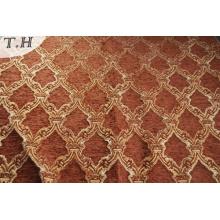 Chenille Gemotric Style Sofa Cover Cloth para Sudamérica