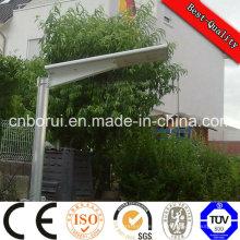 Luz de rua integrada IP65 exterior do diodo emissor de luz do painel solar do jardim de 12V 30W