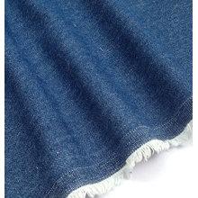 Tecido denim 100% algodão cor azul