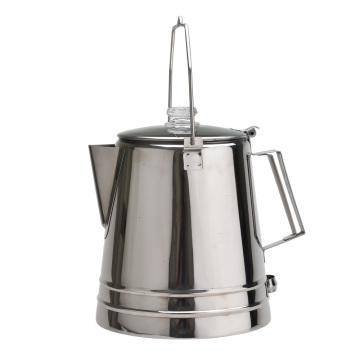Pot de café portable en acier inoxydable