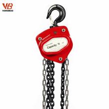 levantando o equipamento que levanta instrumentos manual guincho de corrente da alavanca guincho do elevador da mão