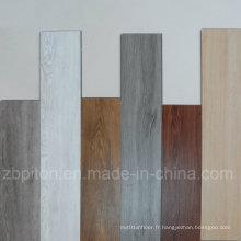 Planche de planchers de vinyle commerciale PVC