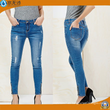 Señoras New Style Fashion Jeans Skinny Leg Stretch Legging Jeans