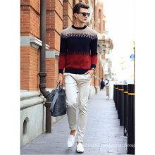 Men′s Cashmere Round Neck Sweater (13brdm004)