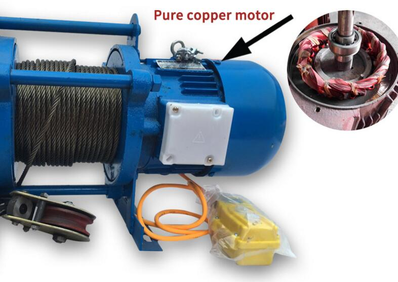 5 ton 380V Electric winch