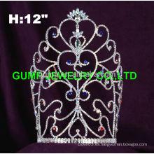 Rhinestone USA patriotic tiara