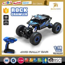 1:18 2.4G de alta qualidade rc crawler