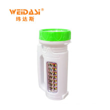 Good quality big size rechargeable searchlight led torchlight for sale
