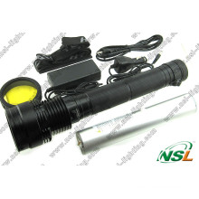 85W Puissant Aluminium Rechargeable HID Xenon Chasse Camping Police Torche Lampe de Poche