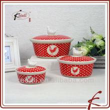 ceramic casserole set