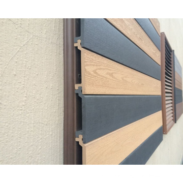 Wood type engineering exterior wood plastic composite WPC wall cladding panel/wpc wall panel