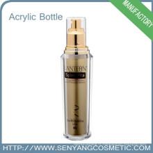 Bouteille de cosmétiques Emballage coloré de luxe Vente en gros de cosmétiques en acrylique