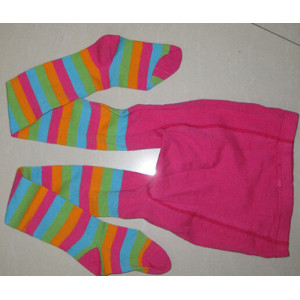 Colorful Strip Children Tights Cheap