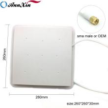 Fuente de la fábrica de largo alcance 865 mhz 900 mhz 8dbi 12dbi pequeña Hf Uhf Rfid Panel antena