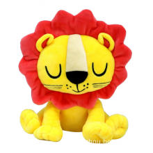 Cute plush stuffed lion toy for baby