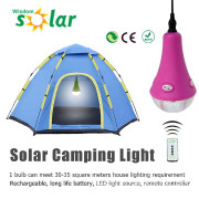 CE Approved led solar light for camping outdoor/indoor home use