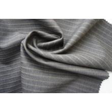 Полосатая шерстяная ткань из 100% шерсти