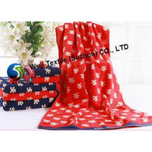 100% Cotton Beach Towels for Camping , Decorative Bathroom