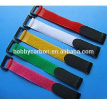 Courroies antidérapantes en plastique de faible profit / attache de câble