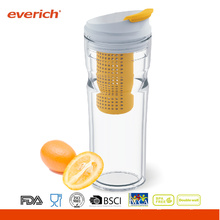 16OZ infuser Everich double wall novo fruto tritan tumbler