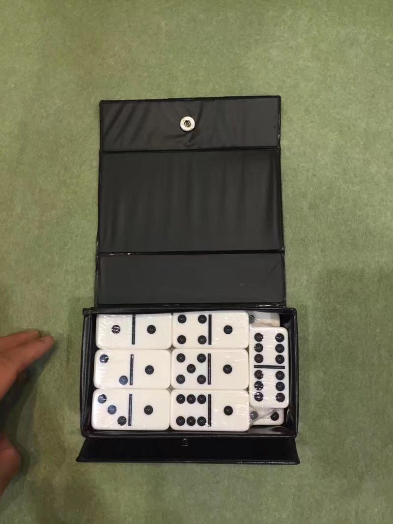 Travel Dominoes Games In Pvc Box