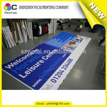 Etiqueta de vinilo de la decoración del coche de encargo confiable del surtidor de China y una bandera más barata del vinilo del formato grande