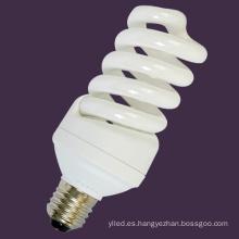 Bombilla de ahorro de energía espiral 25W