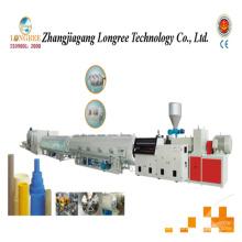 Linha de produção de tubo de drenagem de PVC de grande diâmetro