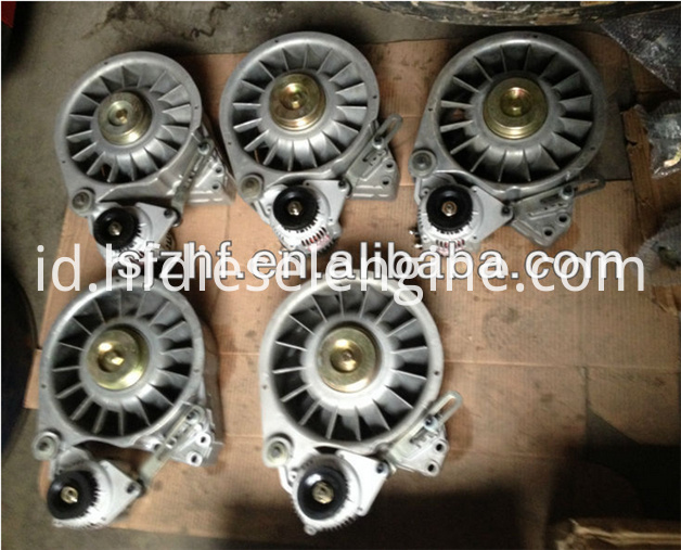 FL511 fan alternator support assy 2