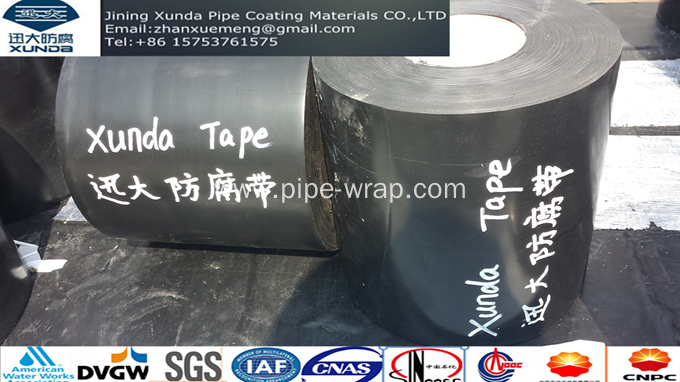 AWWA C214 Pipe Wrap Tape For Buried Pipe