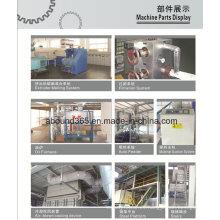 Partes y componentes no tejidos de la máquina